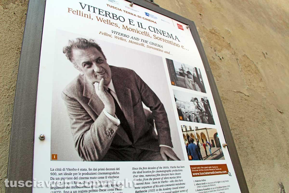 Sul set di Federico Fellini