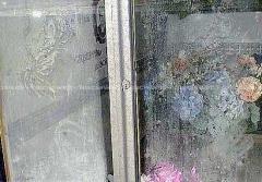 immagine-L\'immagine sul vetro che riproduce la Madonna di Ferruzzi