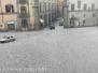 Tempesta di ghiaccio su Viterbo