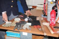 Tentato furto in villa - Tre arresti