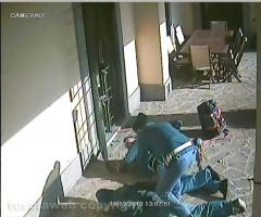Tentato furto in villa - Le immagini dell'arresto