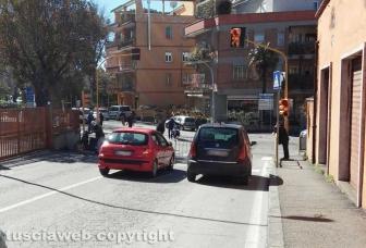 Traffico bloccato per la Tirreno-Adriatico