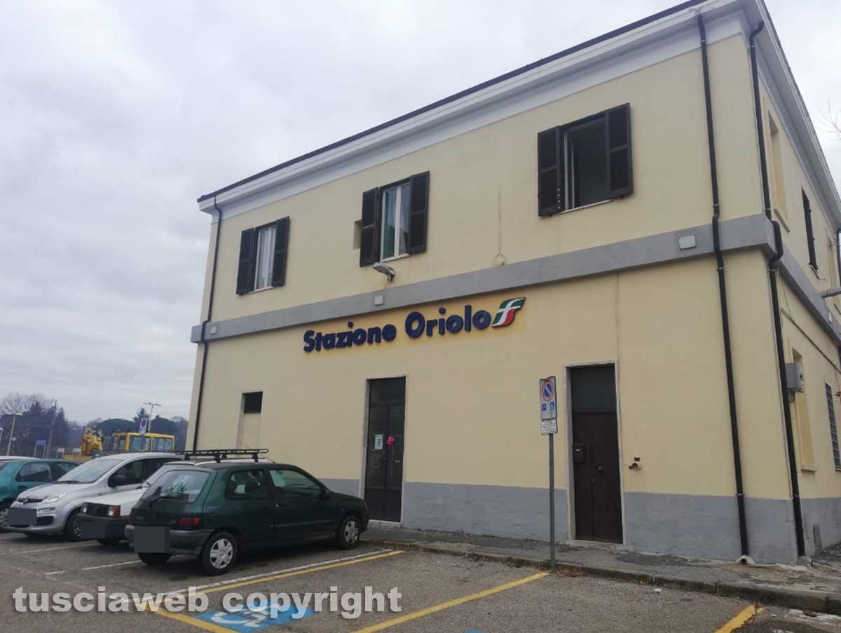 La stazione di Oriolo Romano