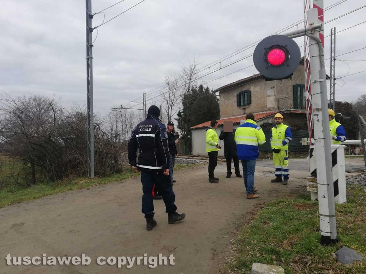 Oriolo Romano - Travolto e ucciso dal treno