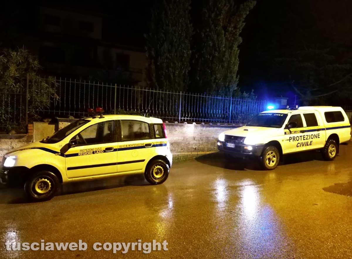 Montefiascone - Donna scomparsa, le ricerche - La protezione civile