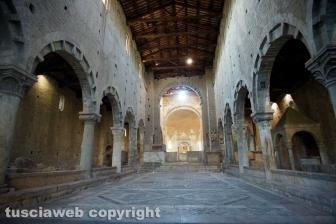 Tuscania - La chiesa di San Pietro