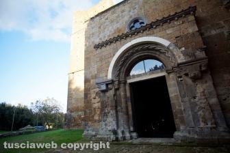 Tuscania - L'abbazia di San Giusto