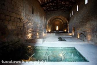 Tuscania - La chiesa dell'abbazia di San Giusto