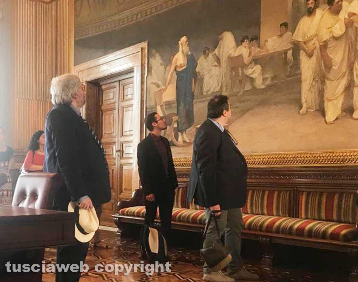 La Tusciaweb academy in visita in senato a palazzo Madama
