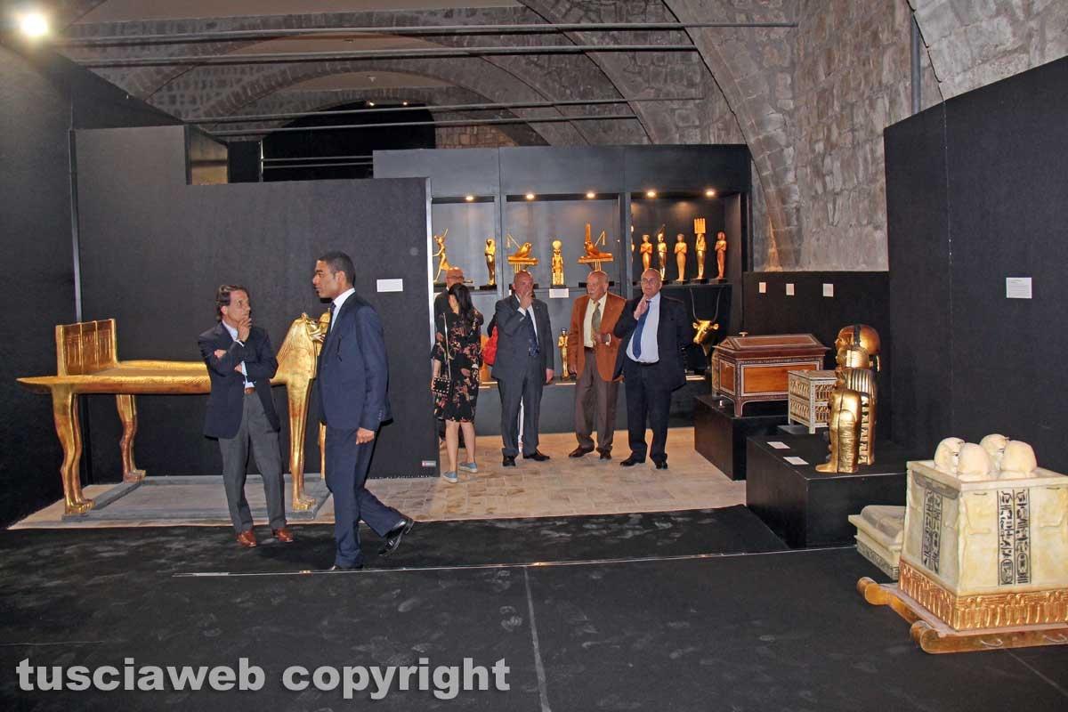 Tutankhamon, inaugurata la mostra