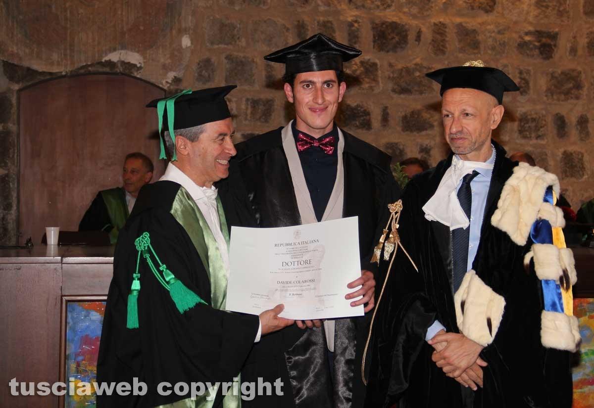 Unione al buio, lauree consegnate alla sala Alessandro IV
