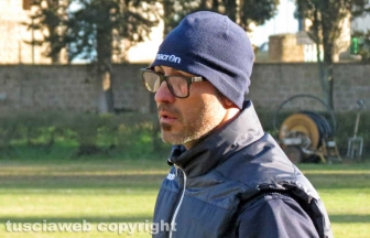 Sport - Calcio - Vigor Acquapendente - L'allenatore Gianfranco Ciccone