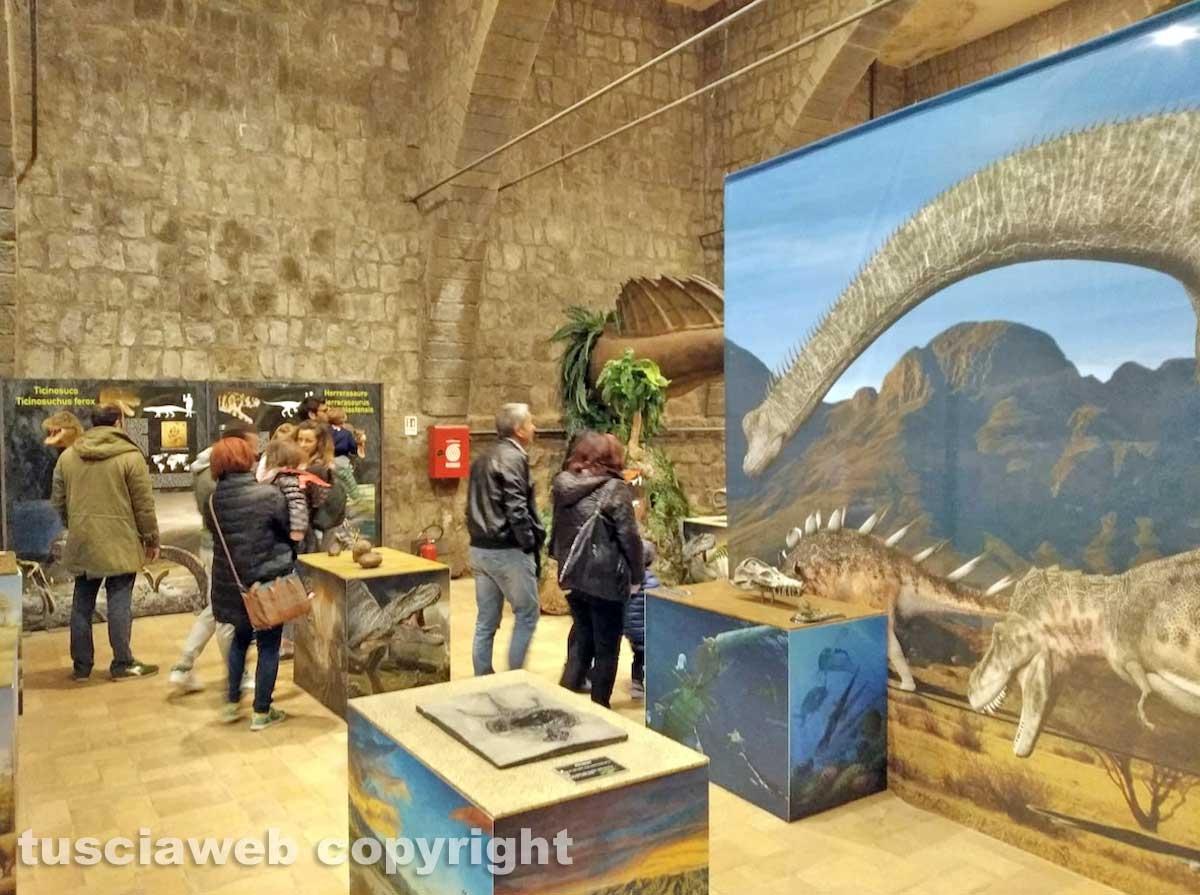 Viterbo - La mostra sui dinosauri a palazzo dei papi