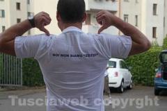 La maglietta di Viterbo Pulita
