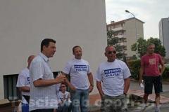 Il sindaco Marini con il consigliere Andrea Marcosano
