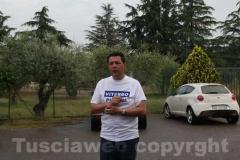 Il sindaco Marini