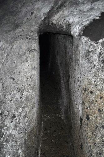 I sotterranei sotto il colle del duomo
