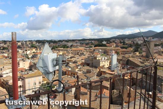Viterbo vista dalla torre del comune