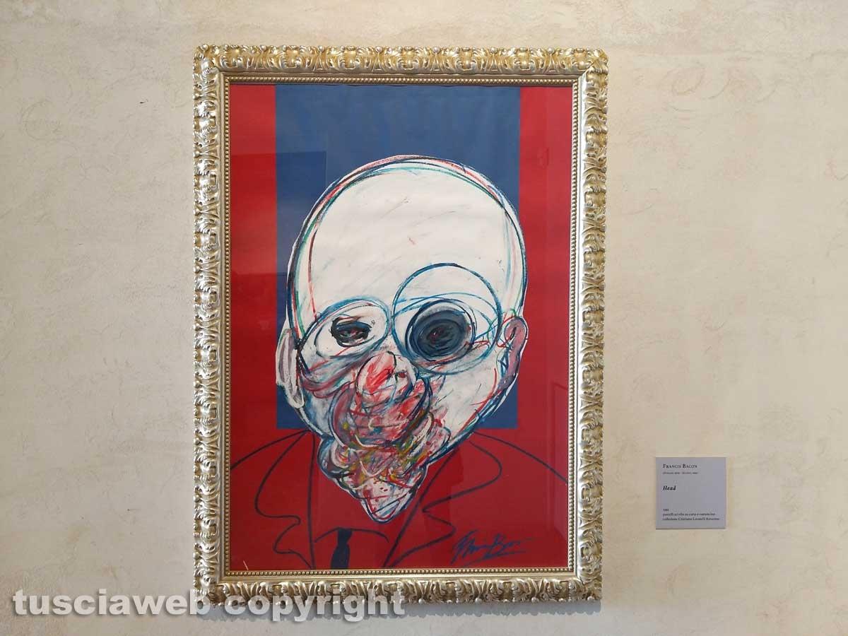 Vittorio Sgarbi inaugura la mostra a palazzo Doebbing