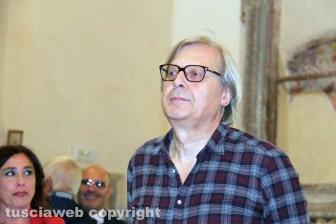 Vittorio Sgarbi a Sutri