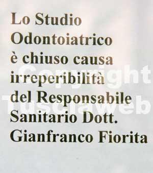 Gianfranco Fiorita il medico scomparso