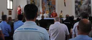 Il vescovo Fumagalli alla messa per la polizia penitenziaria