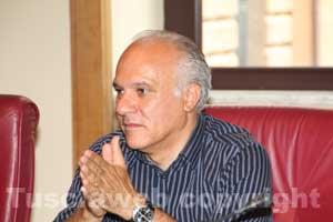 Il consigliere provinciale Bengasi Battisti