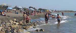 Bagnanti in spiaggia