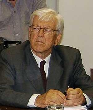 Il garante dei detenuti del Lazio Angiolo Marroni
