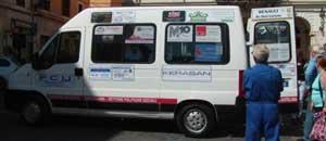 Il pulmino per il trasporto di disabili e anziani