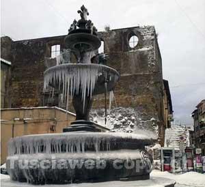 La neve a Ronciglione
