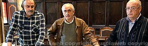 Mercato in via Marconi  - La conferenza di Insogna, Ricci e Quintarelli