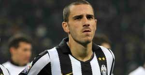 Leonardo Bonucci con la maglia della Juventus