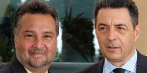 I sindaci Garcia e Marini