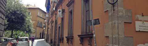 Palazzo Gentili sede della Provincia