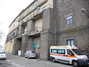 L'ospedale di Montefiascone