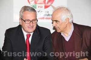 Bobo Craxi e Aldo Filosa