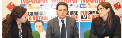 Antonella Sberna, Giulio Marini e Virna Faccenda