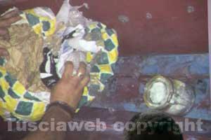 La droga sequestrata nel corso dell'operazione Drum