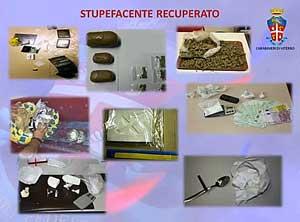 Operazione Drum - La droga sequestrata