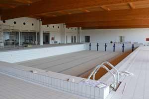 La piscina comunale di Tarquinia