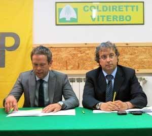 Mauro Pacifici e Renna (Coldiretti)