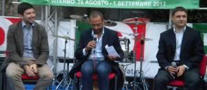 Roberto Speranza, Andrea Egidi e Alessandro Mazzoli