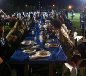 La cena degli Old rugby Viterbo