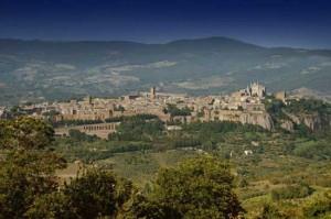 Una veduta di Orvieto