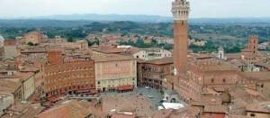 Il centro storico storico di Siena