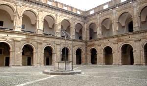 Cortile maggiore Forte Sangallo
