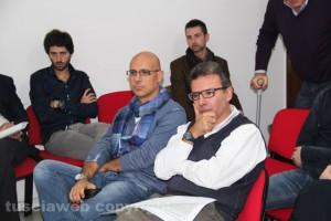 Gianluca Angelelli e Francesco Serra