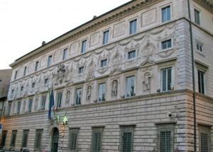 Roma - Palazzo Spada, sede del Consiglio di stato