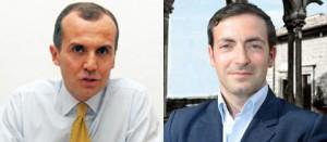 Stefano Calcagnini e Carlo Mancini